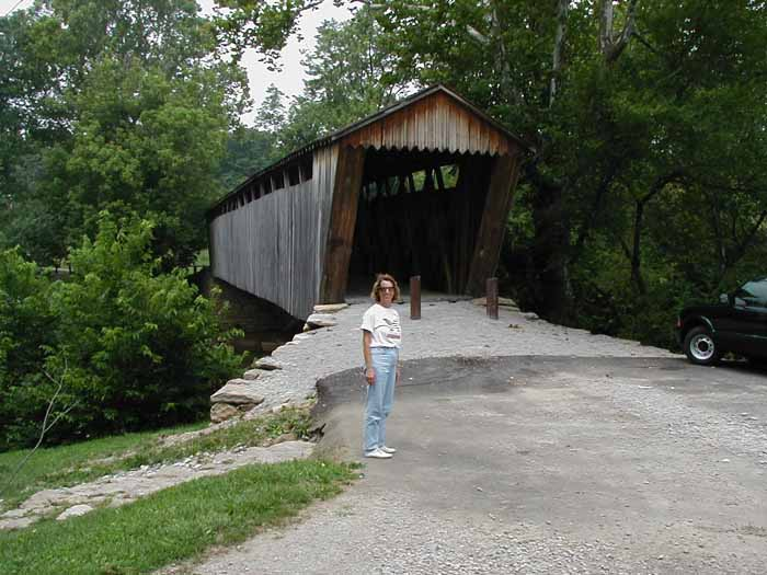 Switzer Covered bridge in Franklin county KY